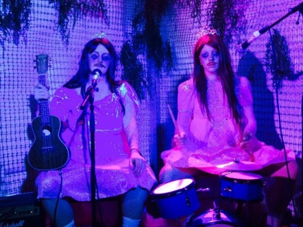 The band at Latitude Festival